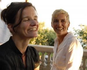 Wexelstube: Brigitta Soraperra und Janine Köchli